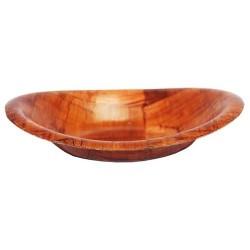 6 Cuencos madera para pan - 30cm