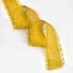 Cinta yute amarillo 10m x 6cm