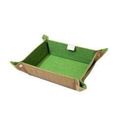 Bandeja spa natural - pequeña verde
