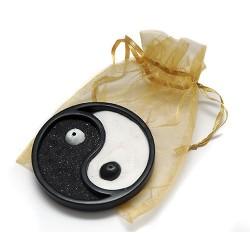3 Jardínes Zen ying yang negro