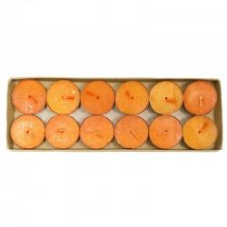 4 Packs 12 velas night light antitabaco - fruta de la pasión