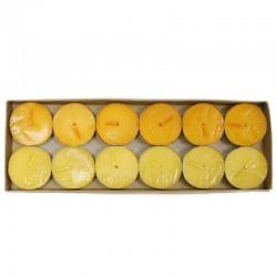 4 Packs 12 velas night light antitabaco - limón