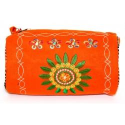 3 bolsos tibetanos - baguette rojo 20x10cm