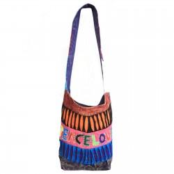 Bolso clásico peace & love colores surtidos