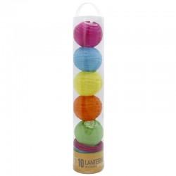 Set 10 farolillos led - multicolor