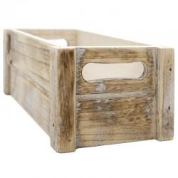 Caja madera envejecida 25x14x10.5cm