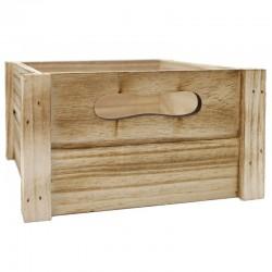 Caja madera natural 20x10x10.5cm