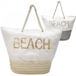 2 bolsos rafia beach - variados