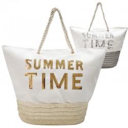 2 bolsos rafia summer time - variados