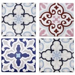 Pack 4 posavasos cerámica - mosaico