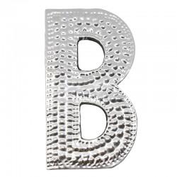 4 letras plateadas B