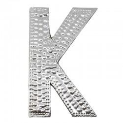 4 letras plateadas K