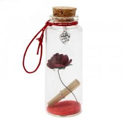 """12 Botellas boda """"Amor interior"""" plata"""