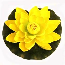 12 Flor Lotus flotante pequeña