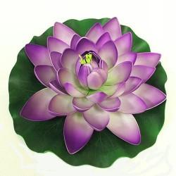 5 Flor Lotus flotante grande