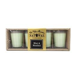 Pack 4 velas votive - sandía