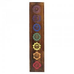 Placa chakra - madera 70cm