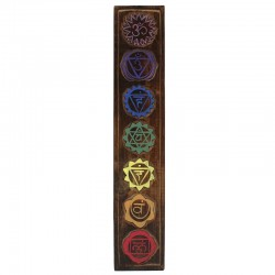 Placa chakra - madera 40cm
