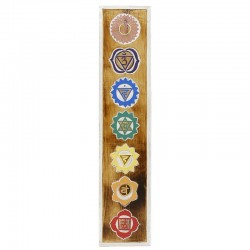 Placa chakra - natural 60cm