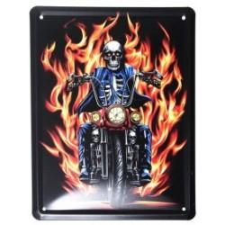 3 Placas vintage - Ghost Ryder 21x15.5cm