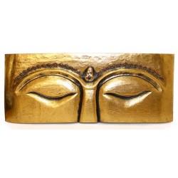 Placa Buda meditando