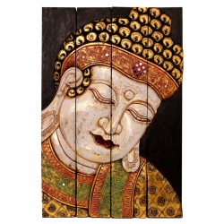 Arte - biombo Buda Vairocana grande