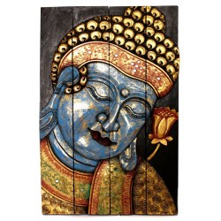 Arte - biombo Buda Akshobya grande
