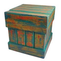 Caja almacenaje Decapada 40x40x40cm