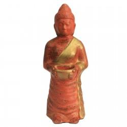 Buda terracota rústico - ofrenda