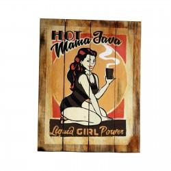 2 Placas madera 45x35cm - hot mania java