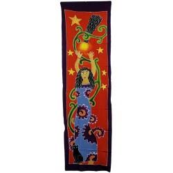 Banner vertical Diosa estrellas