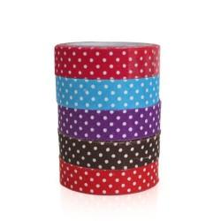 5 Fabric tape topitos (5 pack de 10)