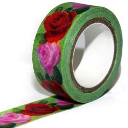 5 Washi tape jardín (pack de 10)