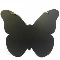 Pizarra mariposa