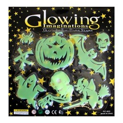 10 Big pack glow in the dark - Halloween
