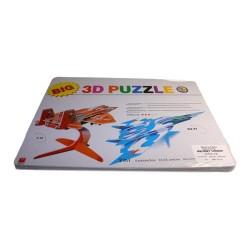 Puzzle 3d avión de combate