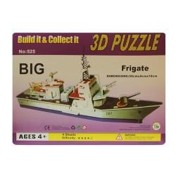 Puzzle 3d fragata