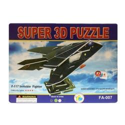 Puzzle 3d avión fantasma