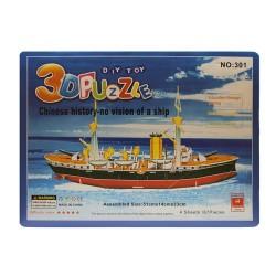 Puzzle 3d portaviones 2
