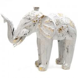Elefante blanco decapado 27cm