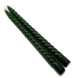 6 Packs 2 velas espiral verdes