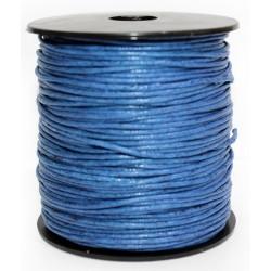 Cuerda Encerada Azul Marino 90m