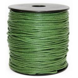 Cuerda Encerada Verde Oliva 90m