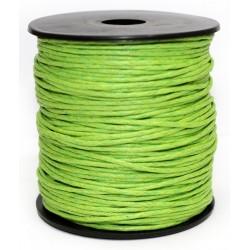 Cuerda Encerada Verde Lima 90m