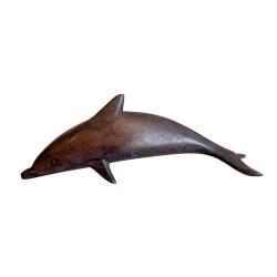 6 Delfines madera Sonokeling 10cm