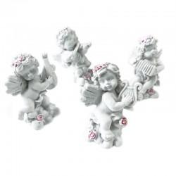 4 Querubines corona rosas musical