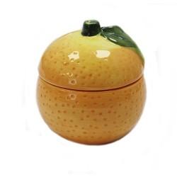 8 Cuencos fruta naranja