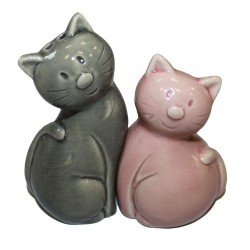 2 Saleros - Pimenteros gato