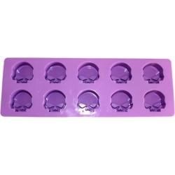 2 molde de silicona - Mini Calaveras