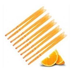 10 Velas de oído aromática naranja